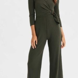 Long sleeve Jump-suit